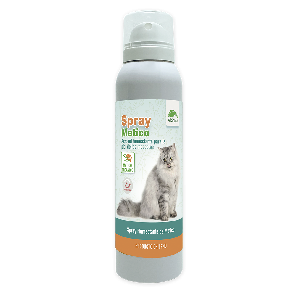 Spray de Matico organico para gatos 100 ml